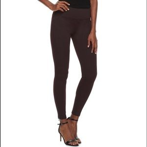 Tummy-Control High-Waisted Ponte Leggings